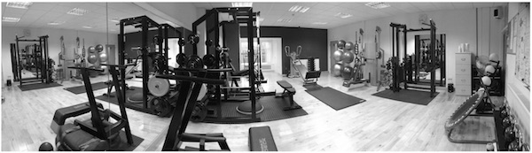 """""""Barnsley's First Personal Training Gym."""""""